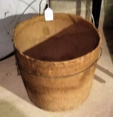 Fiber bucket ( a very primitive bucket!)